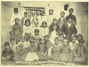 Escuela asiria en Urmia S. XIX