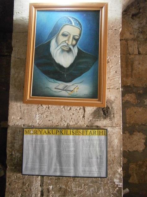 Nusaybin. Mor Yacoub (San Jacobo Baradei) en restos de Catedral que lleva su nombre. Foto propia.