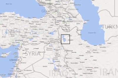 Localización de Urmia